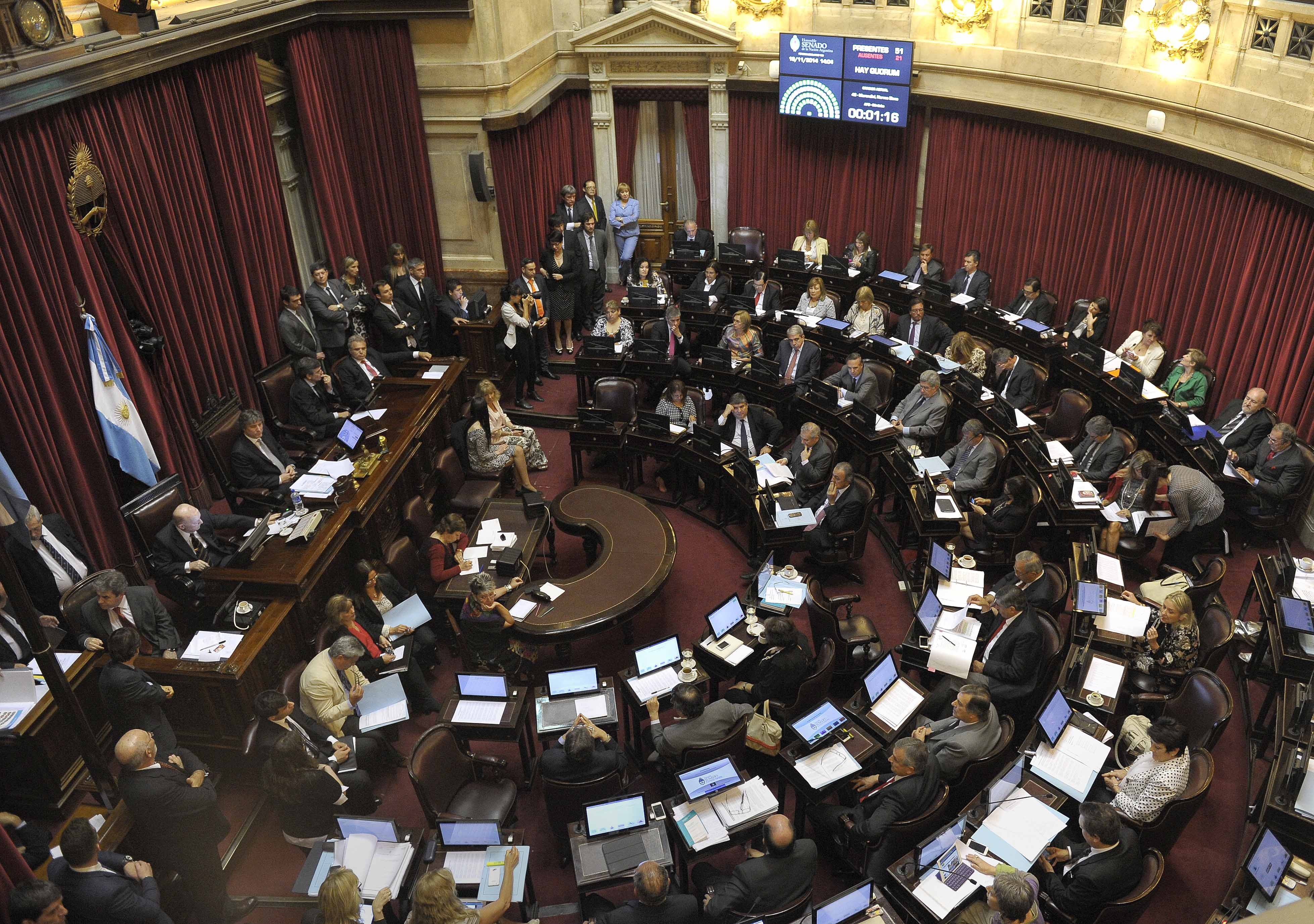 Revista la ciudad el senado nacional aprob autorizar el for La camara de senadores